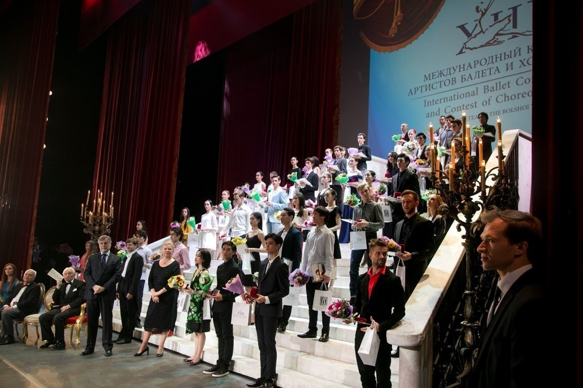XII Международный конкурс артистов балета