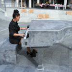 В Хайфе установили рояль из бетона