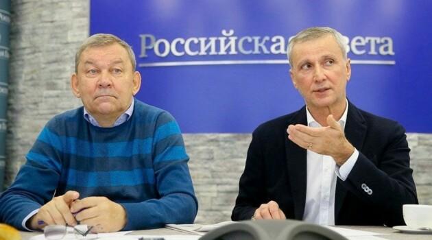 Владимир Урин и Махар Вазиев. Фото - Александр Корольков / Российская газета