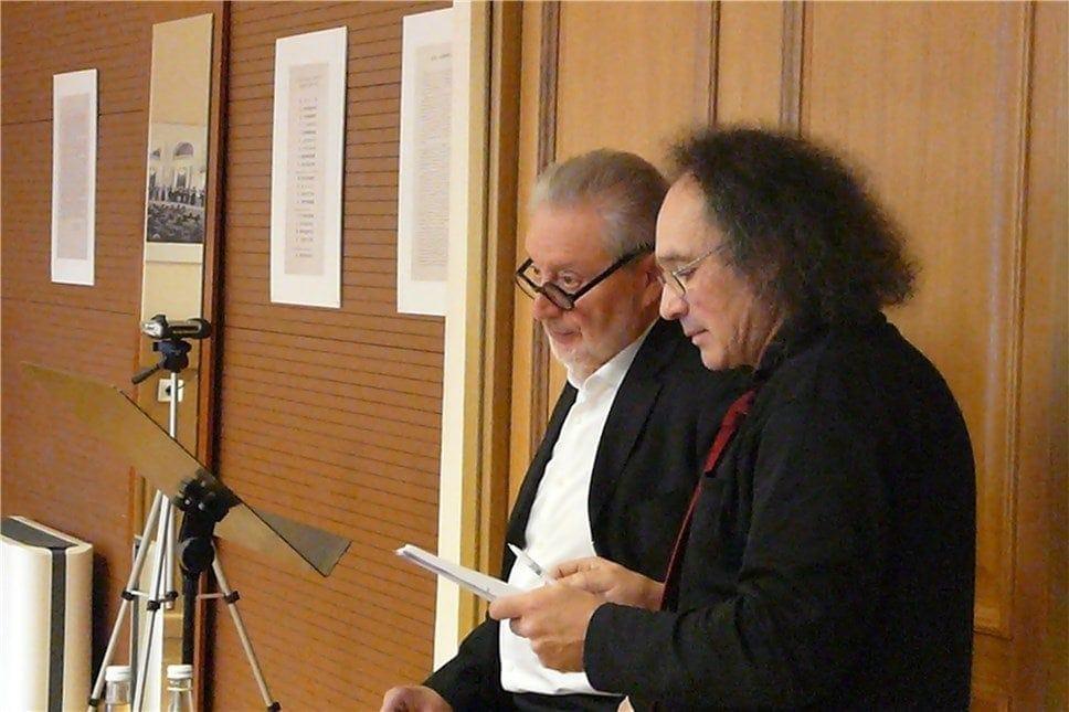 Владимир Зисман и Вениамин Смехов. Фото - Елена Алексеева