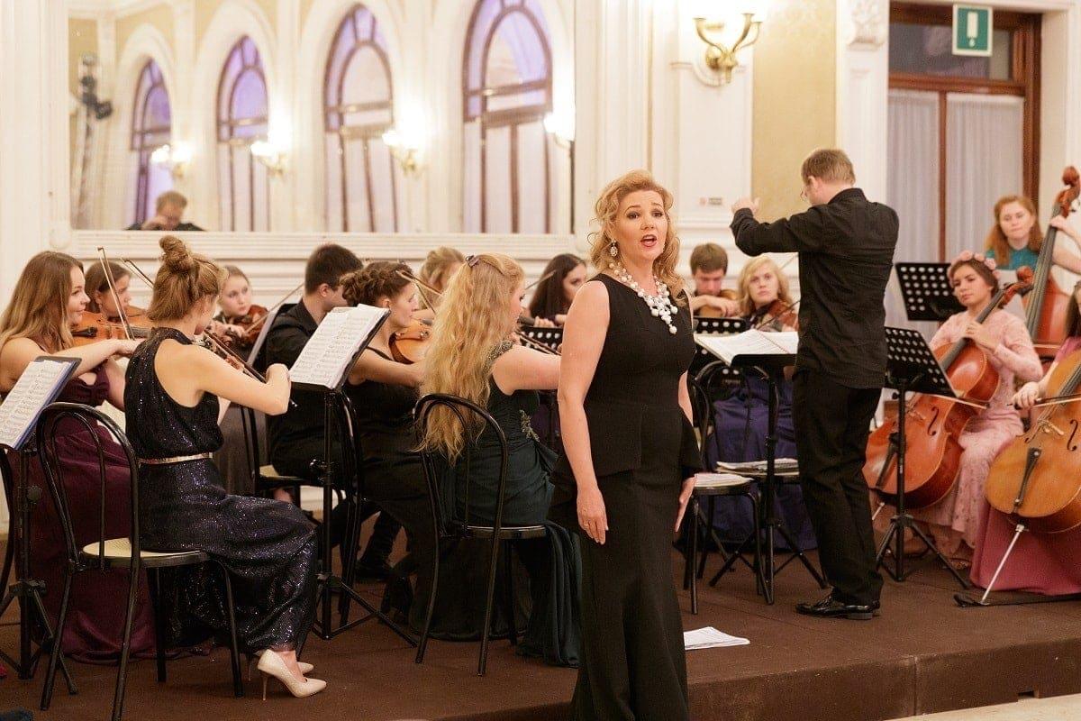 Солистка Мариинского театра Ольга Шилова (сопрано)