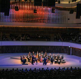"""Гастроли ансамбля Taverner Choir, Consort&Players в концертном зале """"Зарядье"""". Фото - Лилия Ольховая"""