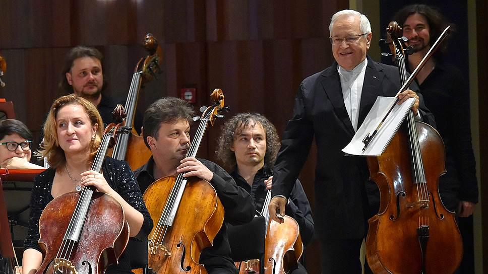 Давид Герингас на открытии фестиваля Vivacello (2018). Фото - Ирина Бужор