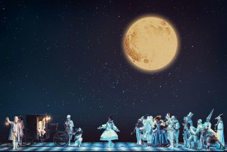В «Севильском цирюльнике» на сцене Большого лучше всего организованы кутерьма и неразбериха. Фото - Дамир Юсупов