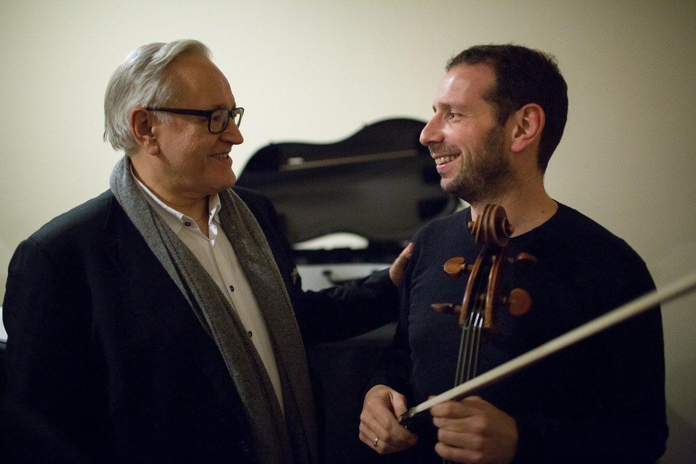 Давид Герингас и Борис Андрианов. Фото - Евгений Евтюхов