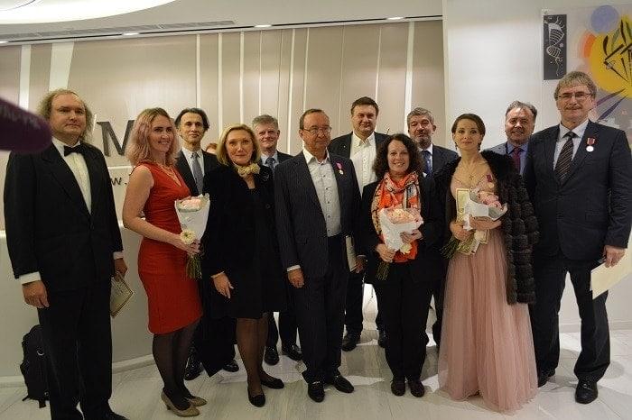 Ежегодная церемония награждения благотворительного фонда «Ренессанс Франсез» состоялась 3 октября 2018 года в «Москва-Сити».