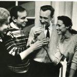 Зоя Богуславская, Андрей Вознесенский, Родион Щедрин и Майя Плисецкая. Фото - Генриетта Перьян