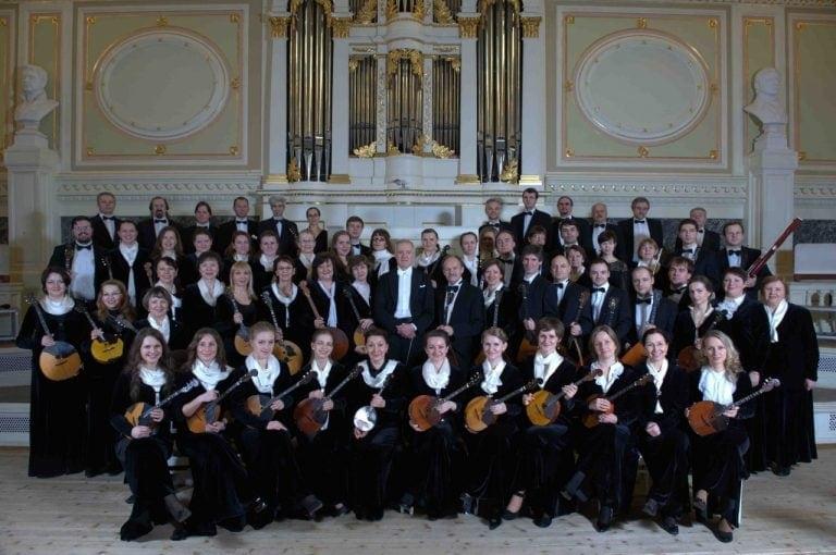 Концерты Андреевского оркестра в Петербурге