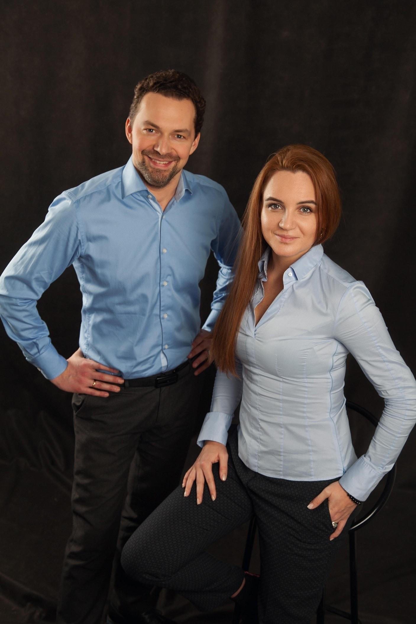 Елизавета Барышникова и Николай Хондзинский