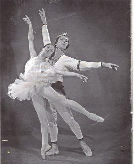 Габриэла Комлева - Никия, Борис Брегвадзе - Солор. 1960-е гг.