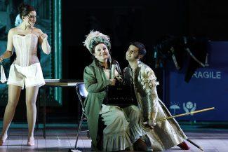 «Путешествия в Реймс» Россини в Большом театре. Фото - Дамир Юсупов / Большой театр