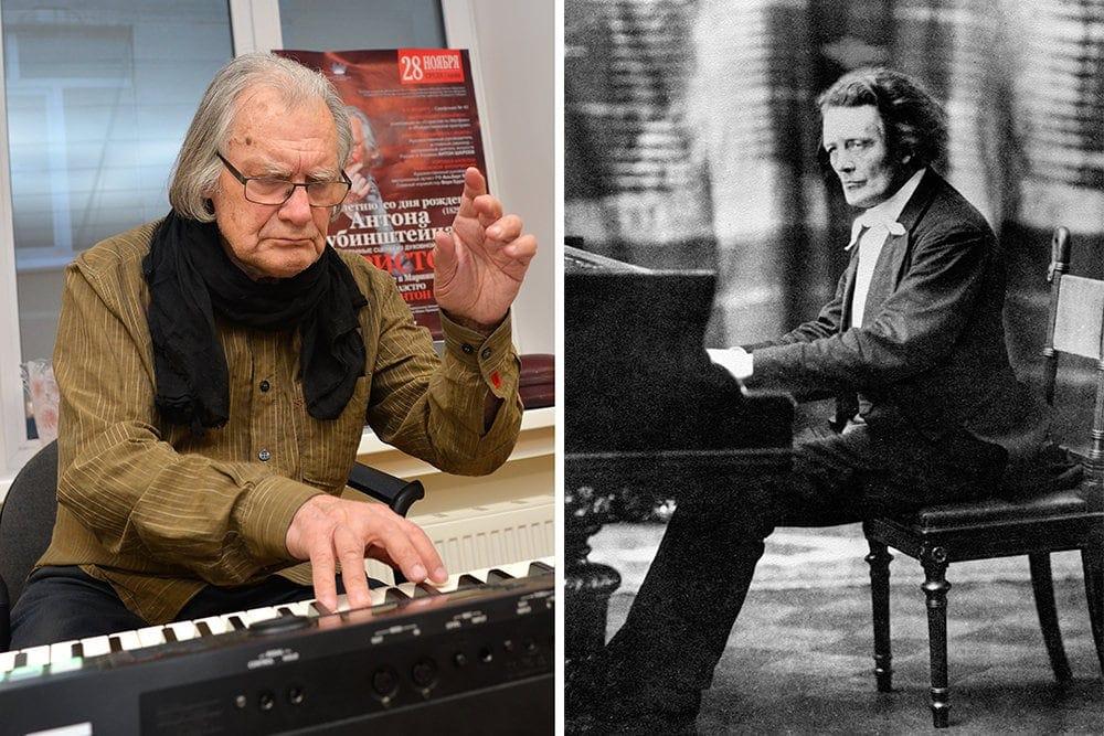 Антона Георгиевича Шароева назвали в честь прадеда, от Рубинштейна, видимо, досталась ему и страсть к музыке. Фото - Анатолий Меньшиков