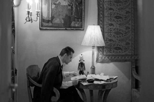 Главный балетмейстер Большого театра СССР Юрий Николаевич Григорович, 1969 год