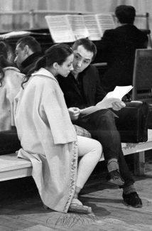Наталия Бессмертнова и Юрий Григорович на репетиции, 1979 год. Фото - РИА Новости / Александр Макаров