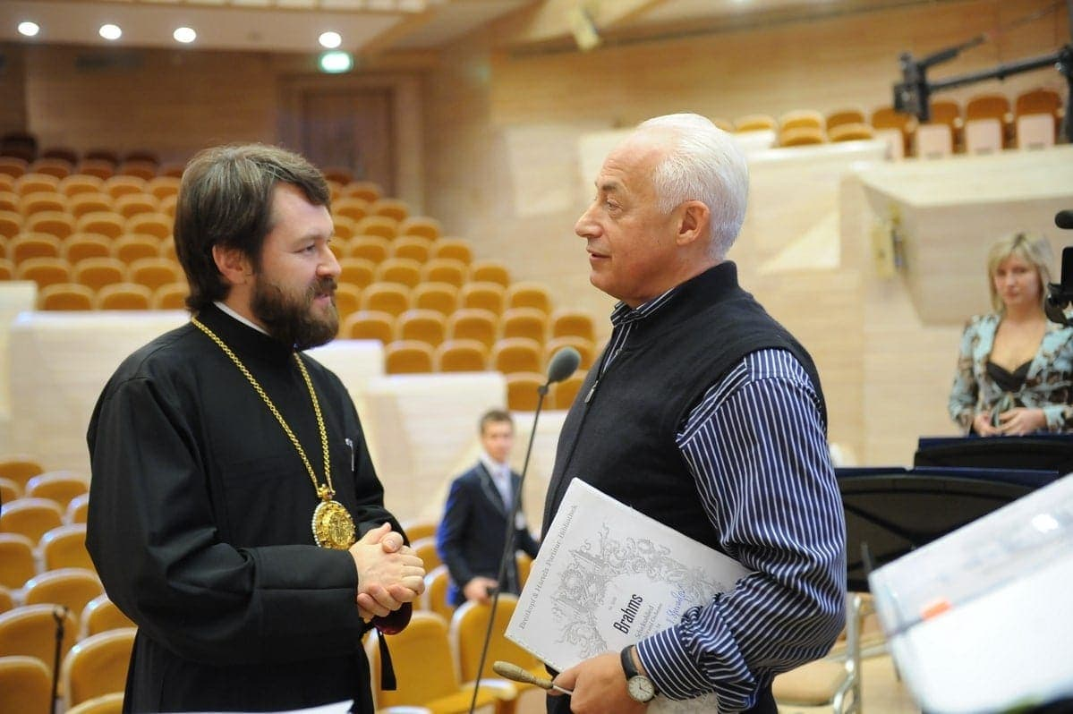 Митрополит Иларион и Владимир Спиваков