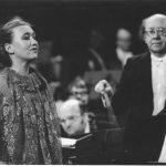 Виктория Постникова и Геннадий Рождественский. Фото из личного архива