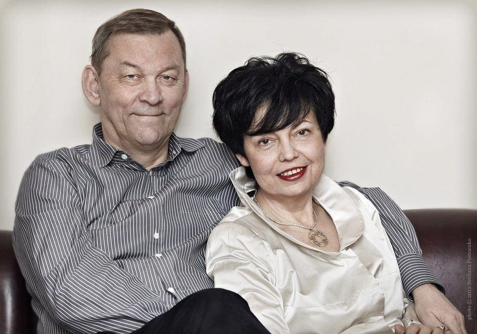 Владимир Урин с супругой Ириной Черномуровой, 2013 год. Фото - Светлана Постоенко