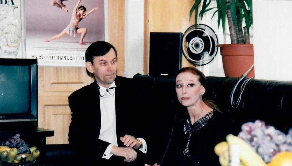 Владимир Урин и Майя Плисецкая, 1997 год