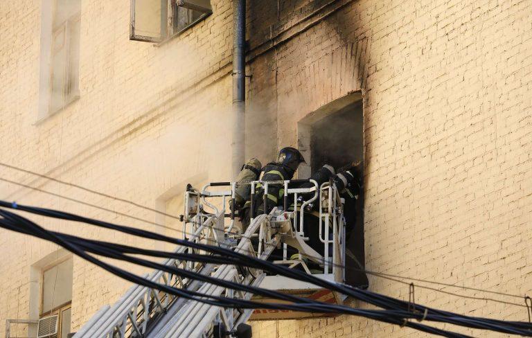В одном из зданий Московской консерватории произошел пожар