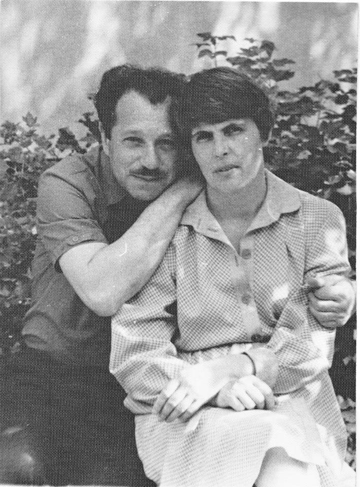 Лев Горелик с женой