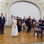 Николай Хондзинский и Александра Довгань выступили в Соборной палате