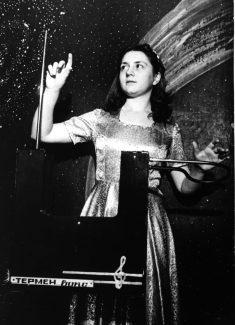 Лидия Кавина в 1982 году