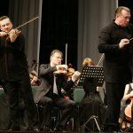 Павел Милюков на концерте с Рязанским губернаторским симфоническим оркестром