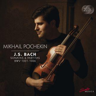 Михаил Почекин записал 6 сонат и партит И. С. Баха для скрипки соло