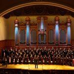 Большой зал Московской консерватории, концерт ко 100-летию капеллы. Фото - Александр Гребешков