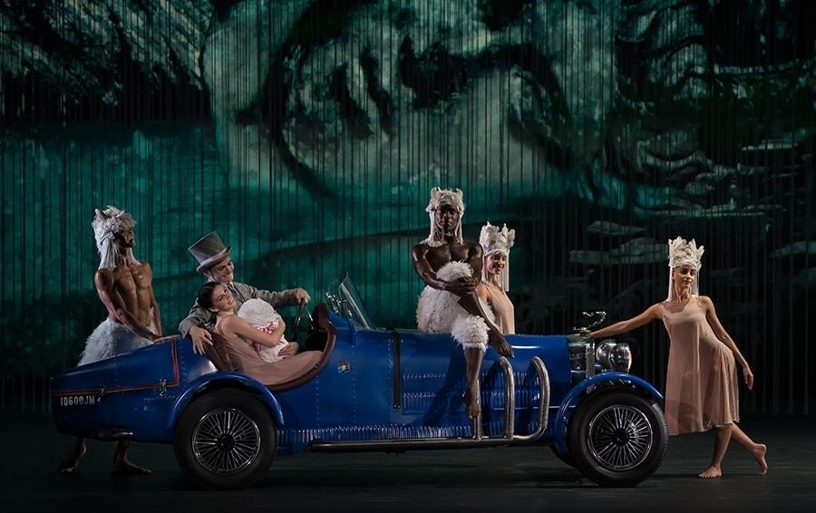 """Сцена из балета """"Айседора"""". Фото - Майкл Хори"""
