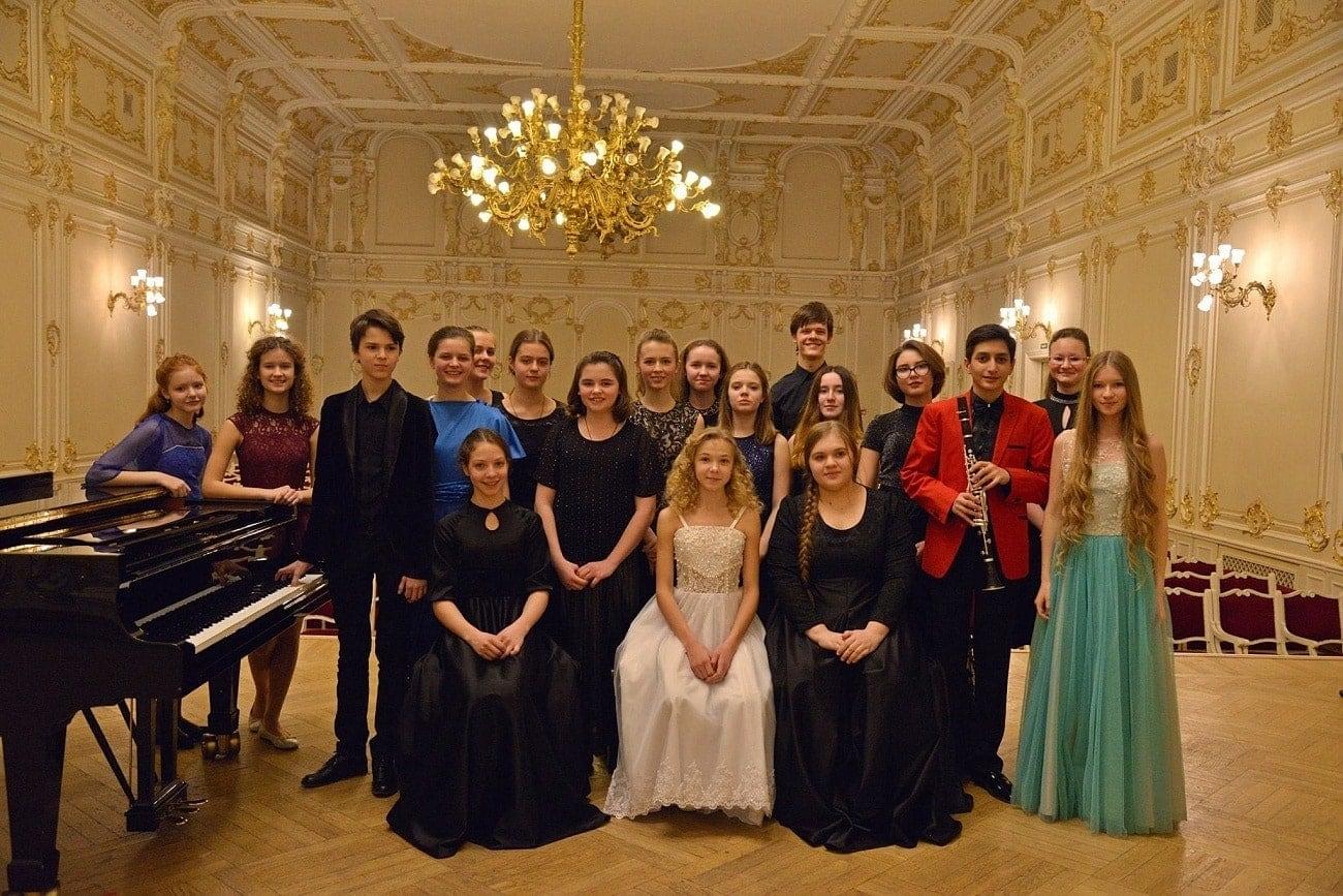Концерт учащихся ЦМШ в Санкт-Петербурге