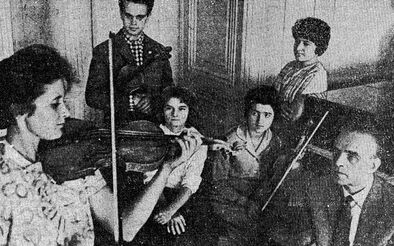 В классе профессора Ленинградской консерватории Михаила Белякова