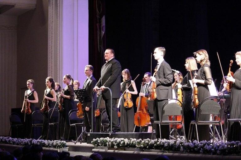 Рязанский губернаторский симфонический оркестр едет на гастроли по Золотому кольцу