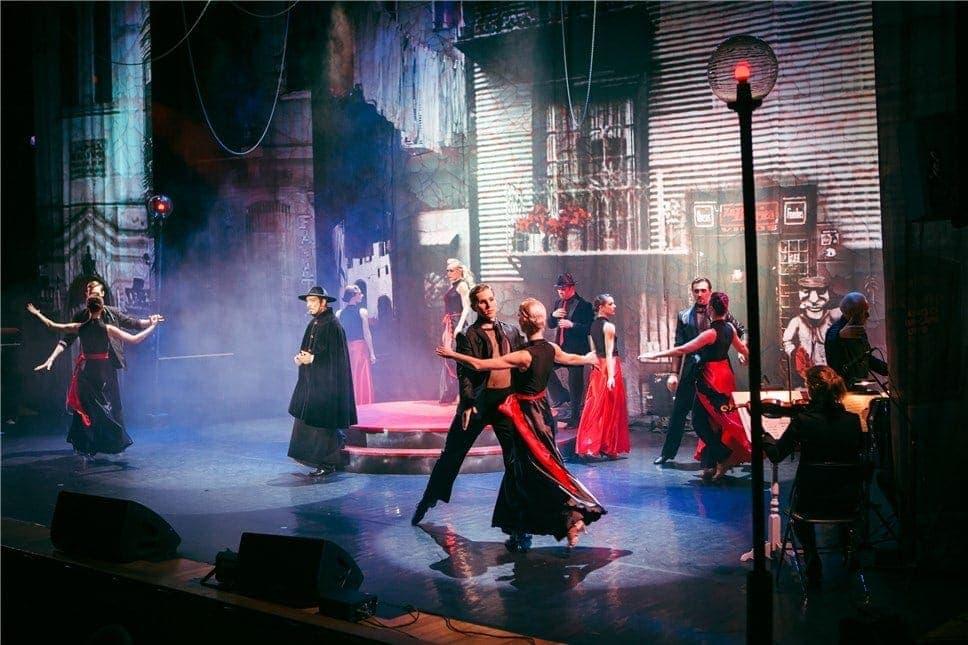 Мартовская премьера Центра имени Людмилы Рюминой – танго-оперита великого аргентинца Астора Пьяццоллы «Мария из Буэнос-Айреса»