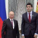Владимир Путин и Валентин Урюпин