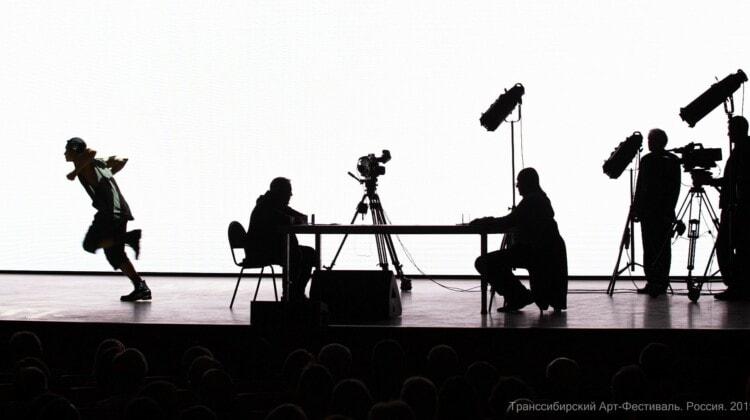 «Чёрт, солдат и скрипка». Транссибирский арт-фестиваль. Фото - Александр Иванов