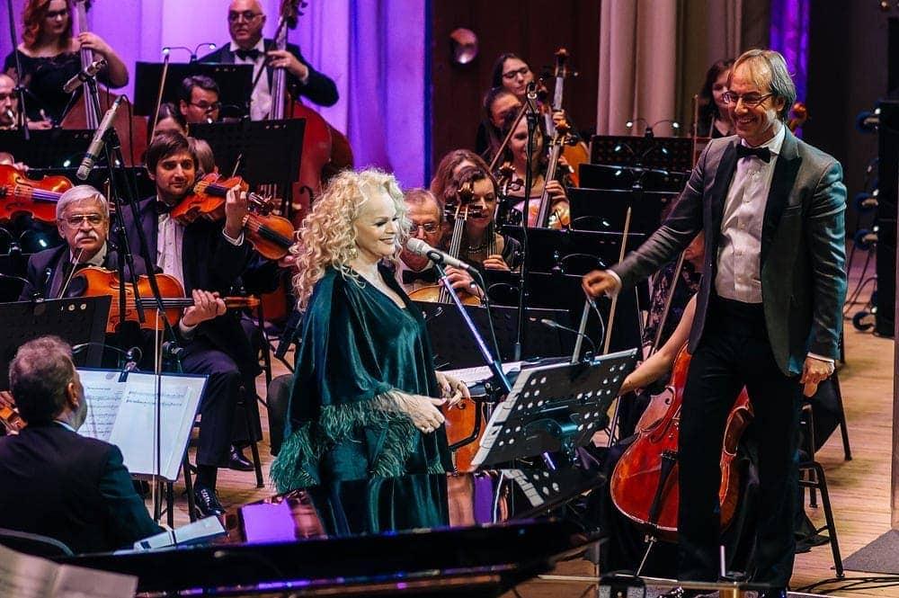 Лариса Долина и Фабио Мастранджело в Ульяновске. Фото - Сергей Семагин