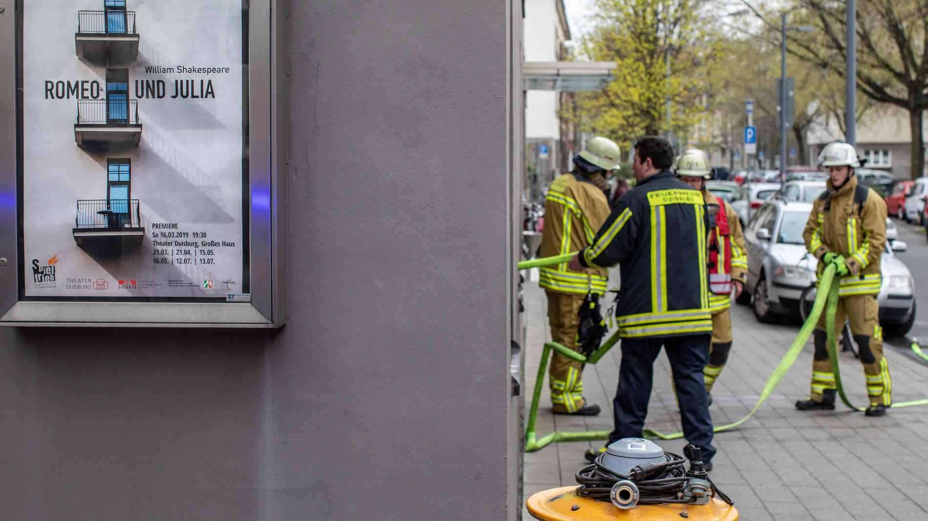 Оперный театр в Дуйсбурге затонул. Фото -  Кристоф Рейхвейн