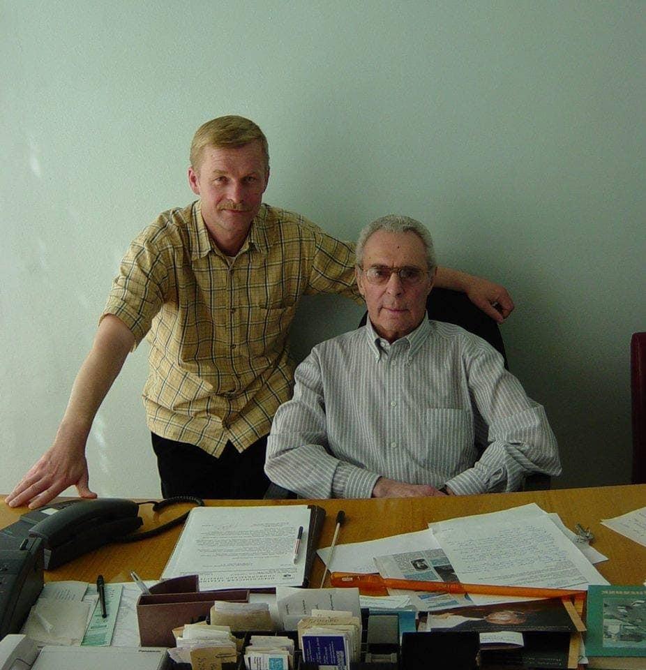 Борис Лисицын и Арнольд Кац