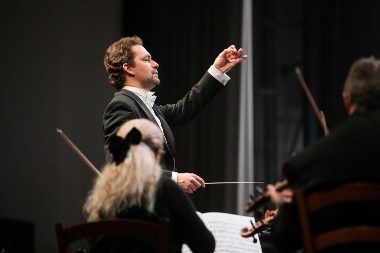 Николай Хондзинский и оркестр Мариинского театра выступили в Пскове