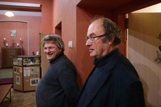 Андрей Коломийцев и Григорий Варшавский. Фото - Екатерина Гостева