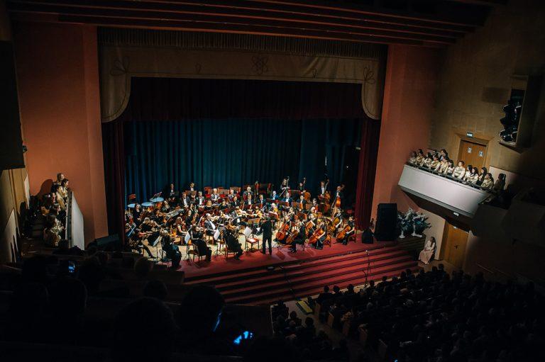 Ульяновский оркестр поздравил Димитровградский музыкальный колледж с 50-летием