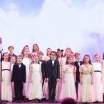 Детский хор «Великан» отметил свой 10-летний юбилей большой программой «В десятку» в Государственном Кремлевском дворце 7 апреля 2019 года