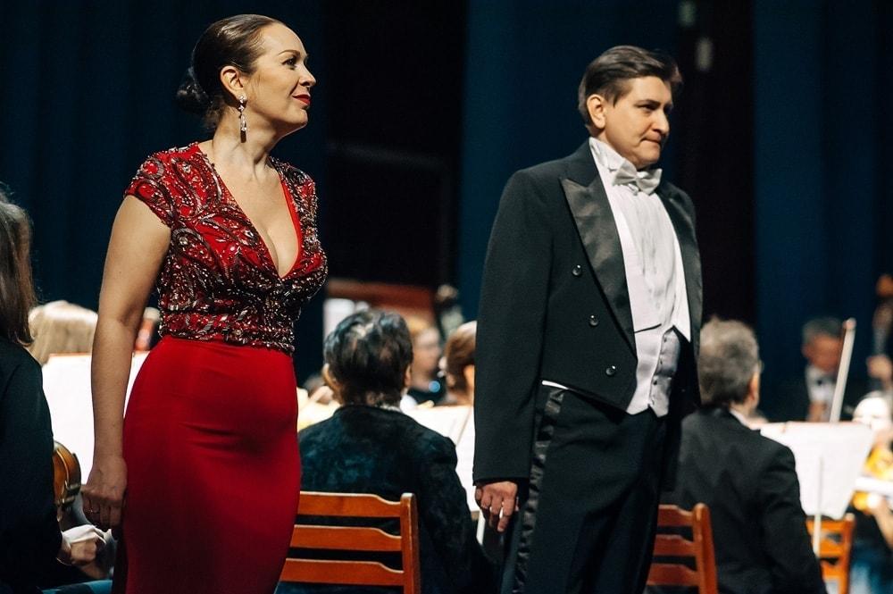 Ирина Янцева и Роман Байлов. Фото - Сергей Семагин