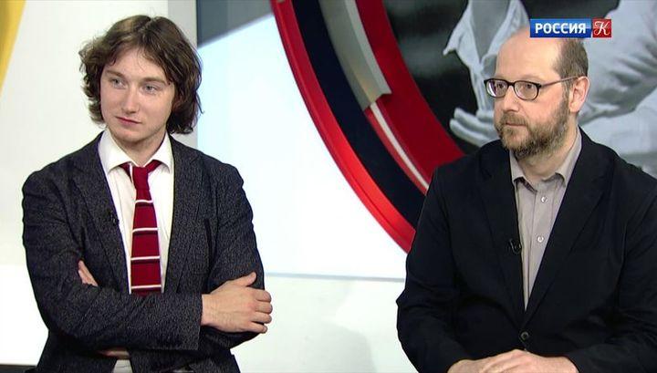 Максим Емельянычев и Клаус Ланг