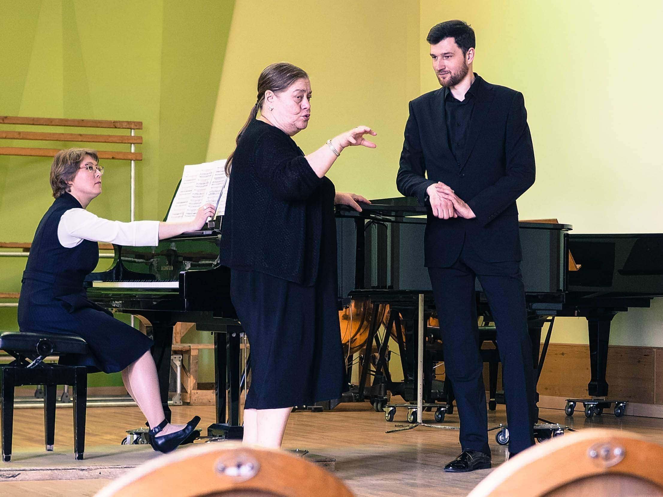 Мастер-класс Ларисы Гергиевой в Ипполитовке