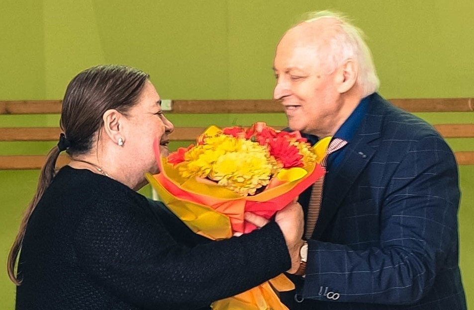 Лариса Гергиева и Валерий Ворона