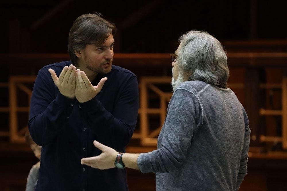 Игорь Головатенко и Евгений Арье. Фото - Дамир Юсупов