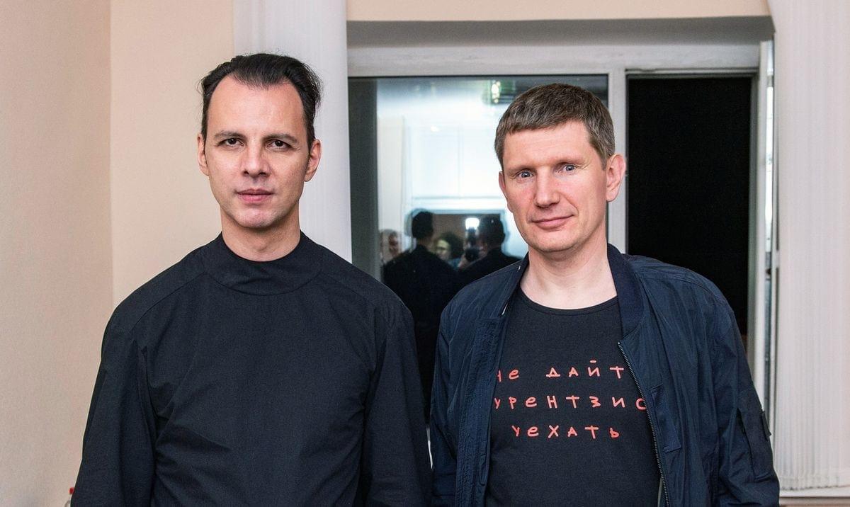 Теодор Курентзис и Максим Решетников Фото - Константин Долгановский