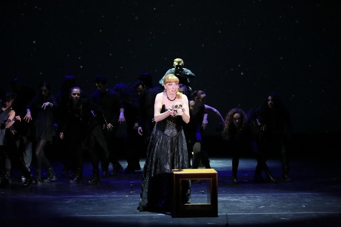 Мария Калинина в Сцене снежной метели